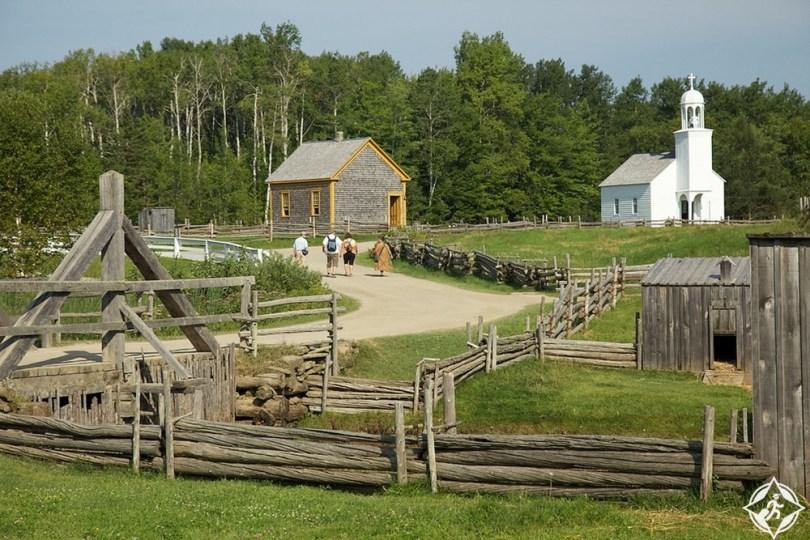 نيو برونزويك - قرية أكادين التاريخية