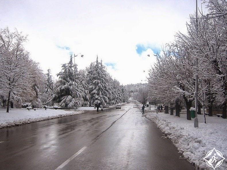 المغرب في الشتاء