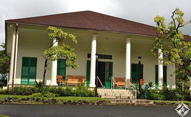 هونولولو - قصر الملكة إيما الصيفي