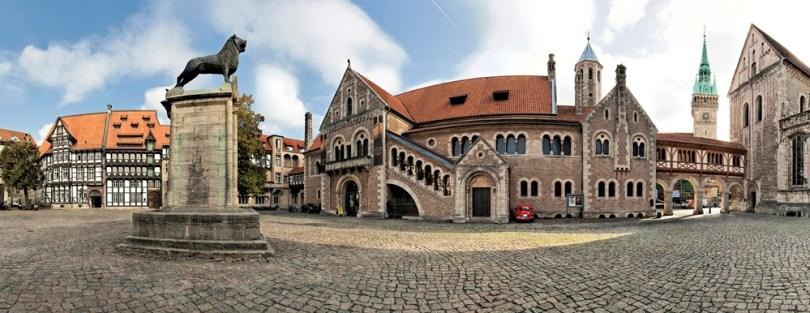 براونشفايغ - ساحة القلعة