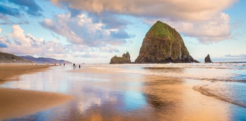 أوريغون - شاطئ كانون