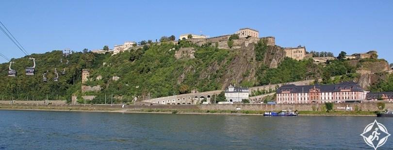 كوبلنز - قلعة إهرينبريتشتاين