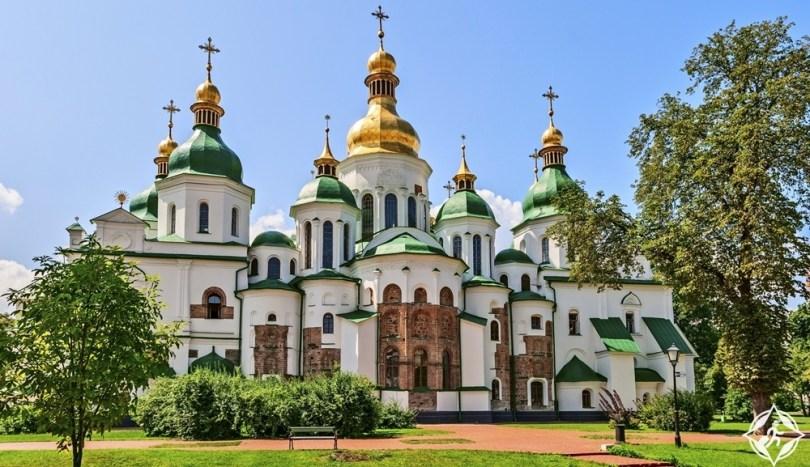 كييف - كاتدرائية سانت صوفيا