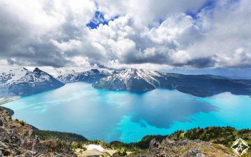البحيرات في كندا - بحيرة غاريبالدي