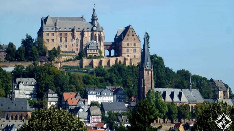 القلاع في ألمانيا - قلعة ماربورغ