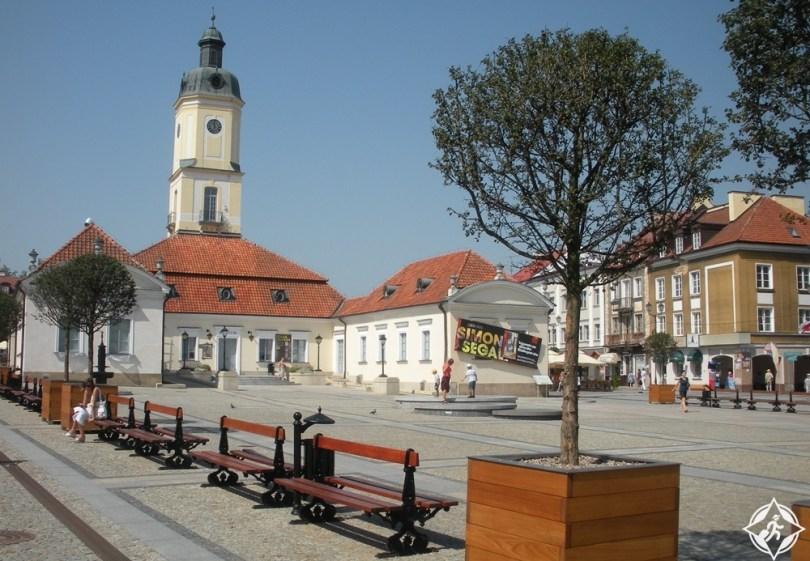 بياليستوك - ساحة السوق كوسيوسكو
