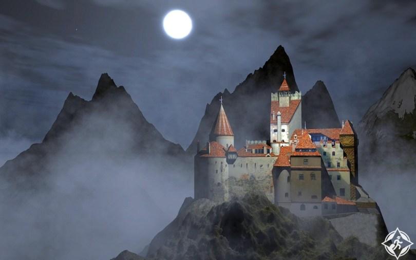 قلاع القرون الوسطى - قلعة بران
