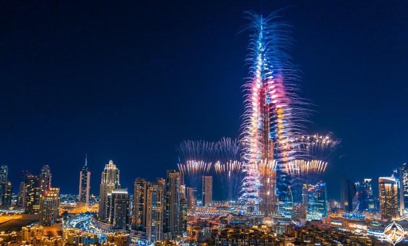 برج خليفة احتفال رأس السنة