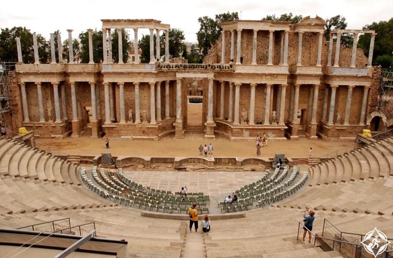 ميريدا - المسرح الروماني