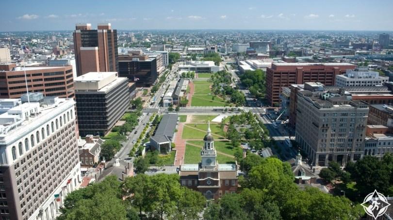 فيلادلفيا - حديقة الاستقلال الوطنية التاريخية