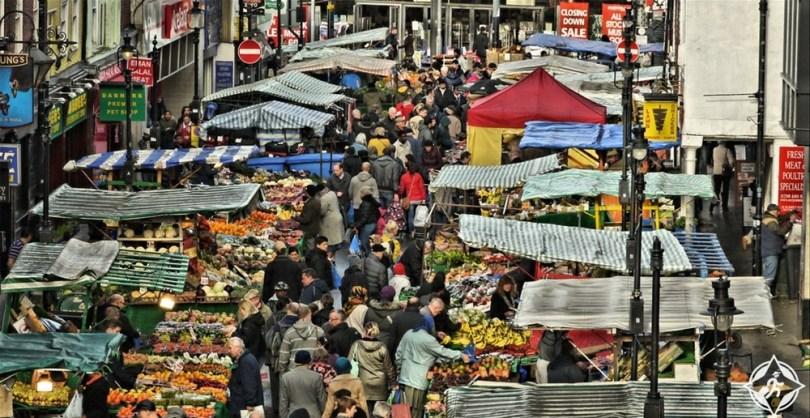كرويدون - سوق شارع سري