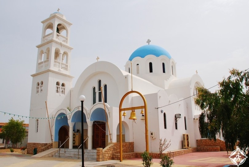 جزيرة اجيستري - كنيسة أجيوي أنارجيروي