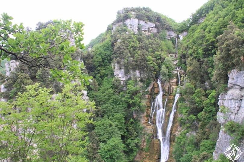 الشلالات في ايطاليا - شلالات ريو فيردي