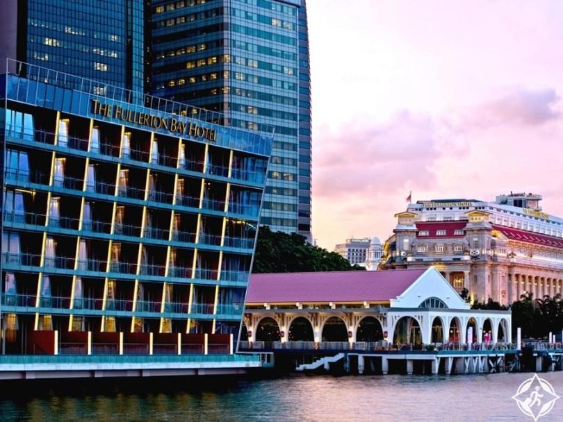 الفنادق الفاخرة في سنغافورة - فندق ذا فولرتون باي سنغافورة