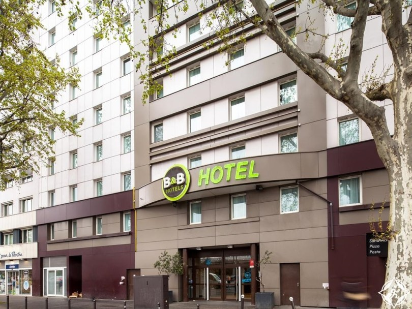 الفنادق الاقتصادية في باريس - بي آند بي هوتل باريس بورت دو لا فيليت