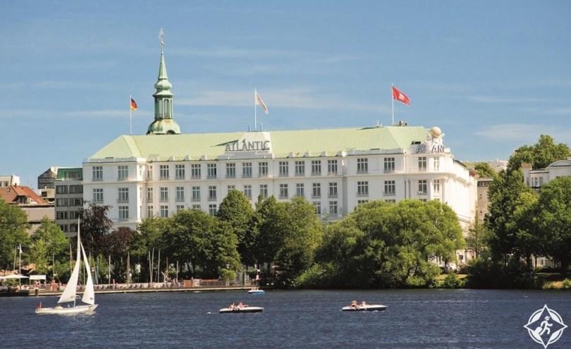 الفنادق الفاخرة في هامبورغ - فندق أتلانتيك كمبينسكي