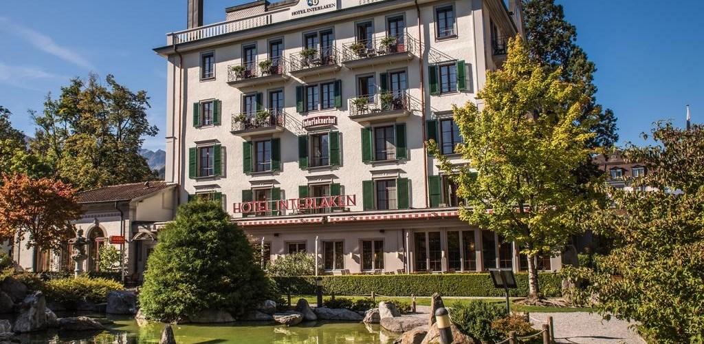 الفنادق في إنترلاكن - فندق إنترلاكن