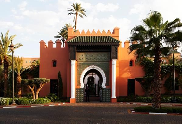 Ξενοδοχείο La Mamounia (Marrakesch, Μαρόκο)