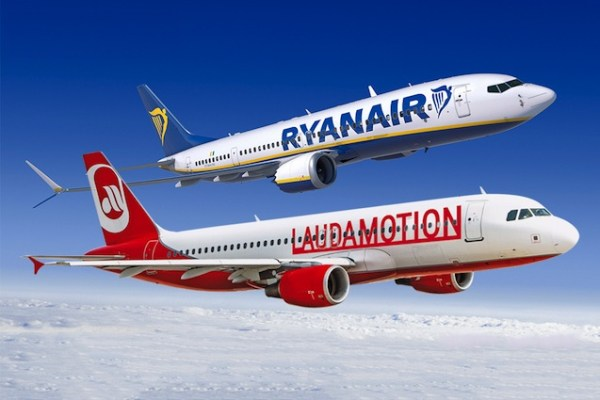 Laudamotion and Ryanair Partnership Takes Off Travelling