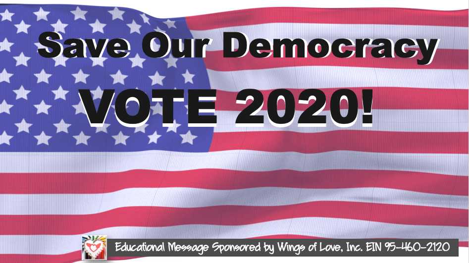#VoteForAmerica Educational Campaign by Wings of Love Inc