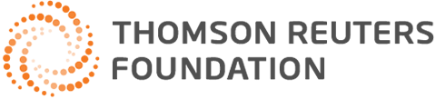 Image result for thomson reuters foundation news logo