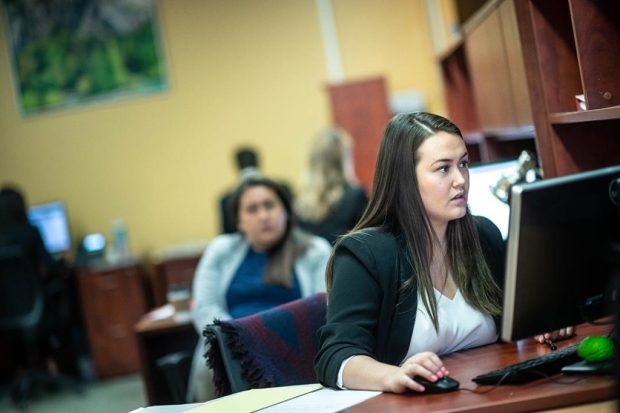 UBC law students at work