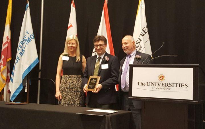 Award ceremony photo