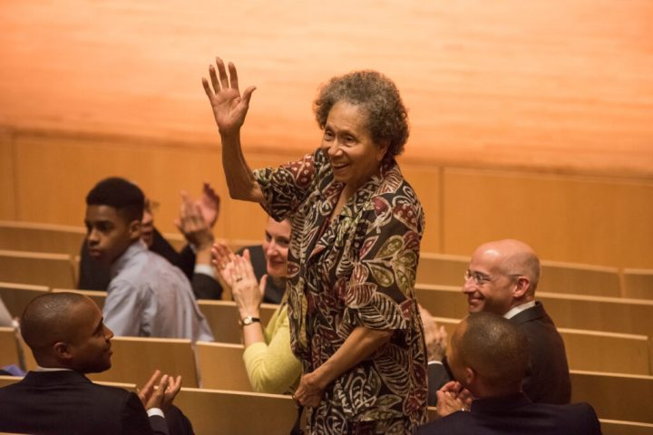 Daphne D. Harrison, professor emerita of Africana studies and founding director of UMBC's humanities center, now the Dresher Center for the Humanities