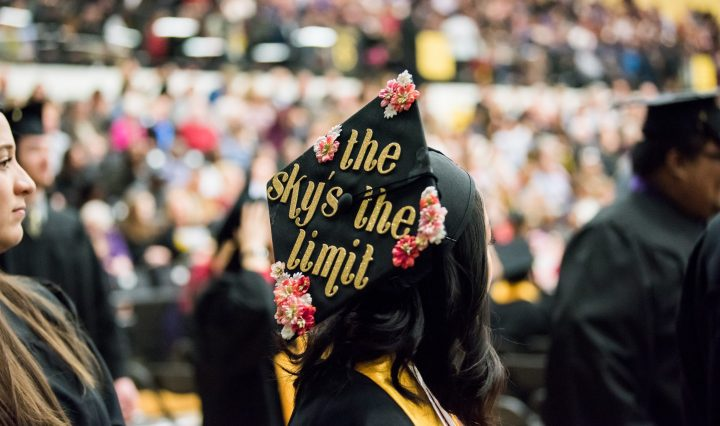 The sky's the limit for all UMBC graduates.