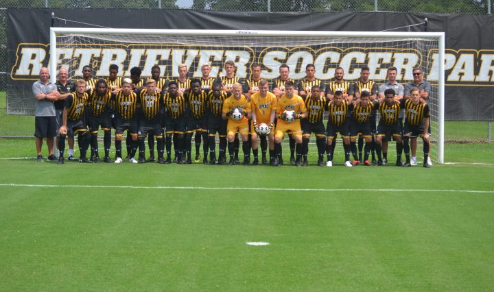 UMBC men's soccer team photo