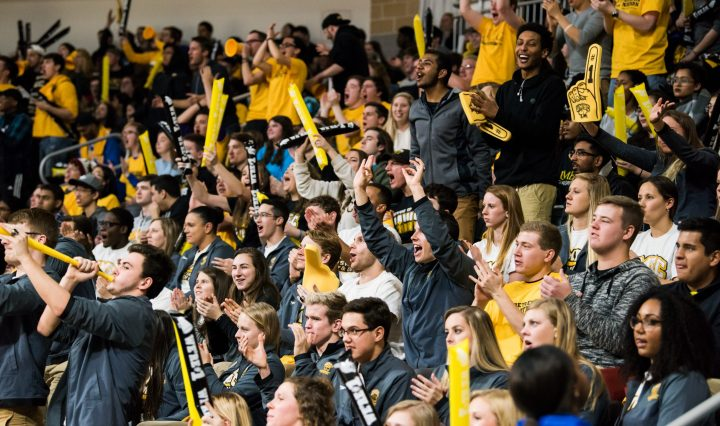 Men's basketball audience vs. University of Vermont