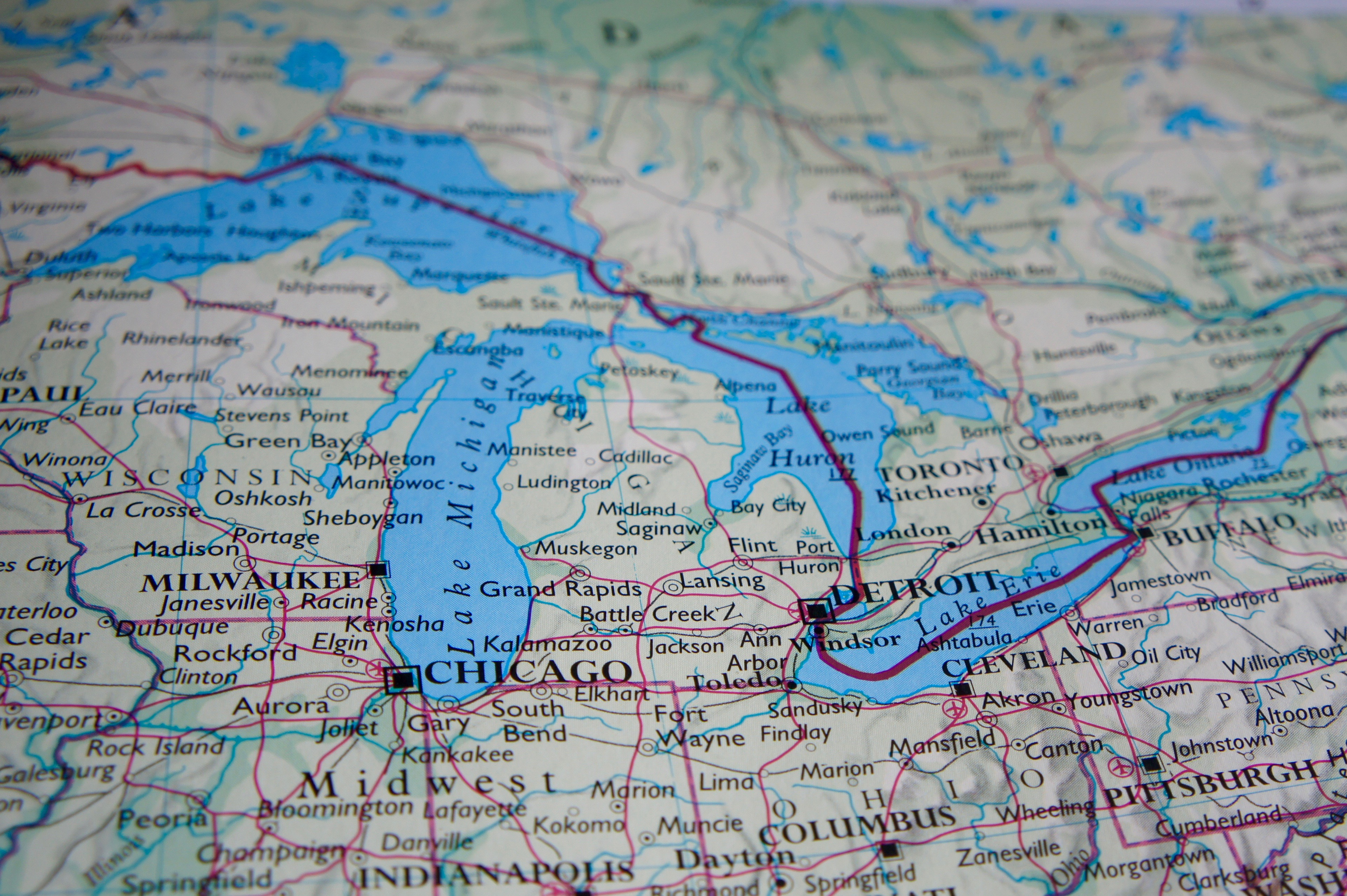 Maps Highlight Michigan Cities Groups That Will Bear