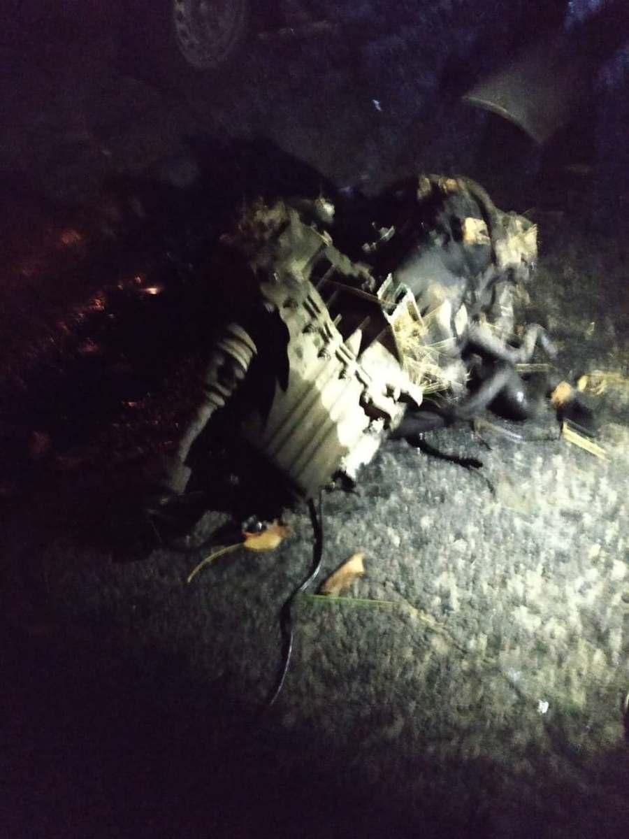 (Foto, Video) Accident teribil pe traseul R16 Ungheni - Sculeni în apropiere de Blândești, raionul Ungheni