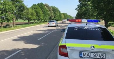 Lista drumurilor patrulate de INP la 19 august 2019