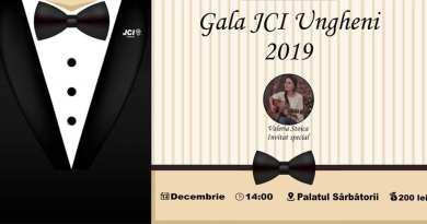 "La Ungheni va avea loc Gala JCI Ungheni 2019: ""Be better Ungheni"""