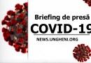 Briefing de presă privind COVID-19 din 8 aprilie 2020