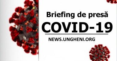 Briefing de presă privind COVID-19 din 1 aprilie 2020