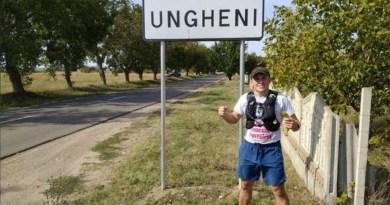 """""""Ultramaraton Caritabil în jurul Moldovei – Save Gemenii Ciutac"""" a ajuns astăzi și prin Ungheni"""