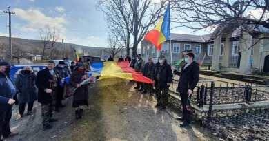 Eroul Pavel BURUIANĂ comemorat la Condrătești cu Sfântul TRICOLOR și onoruri