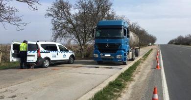 Transportul agabaritic și cu greutăți – verificat de către inspectorii ANTA