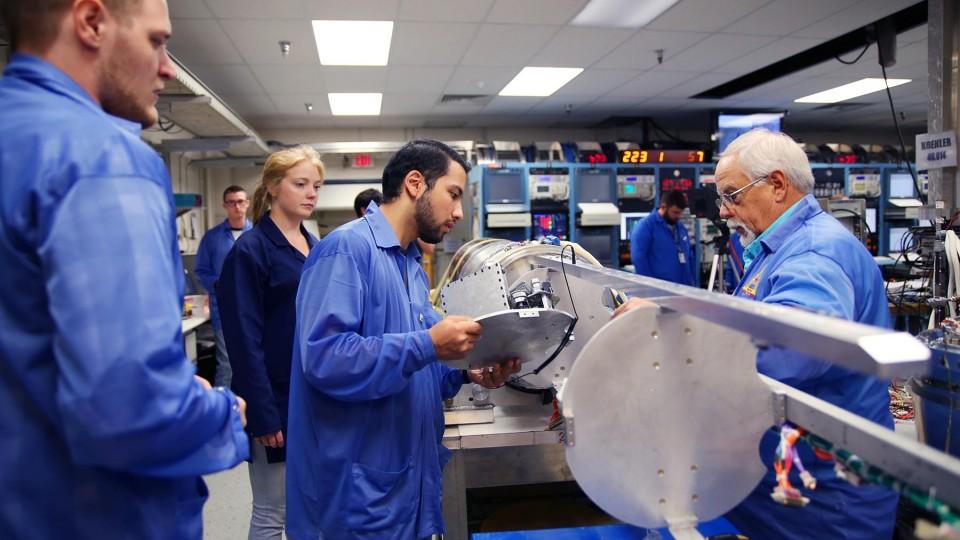 Students launch NASA design project | Nebraska Today ...