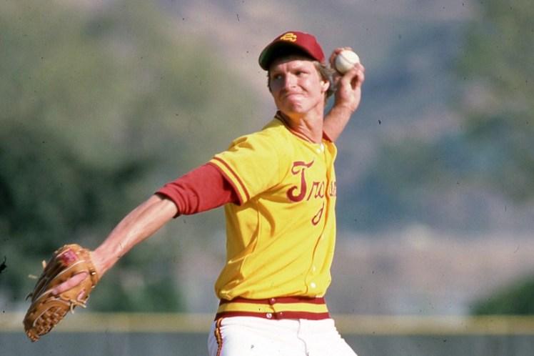 USC baseball great Randy Johnson