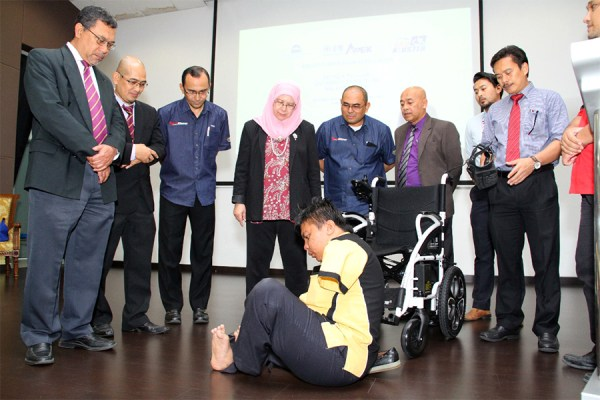 USM News Portal - USM GIFT BRINGS GREATER MOBILITY TO ...