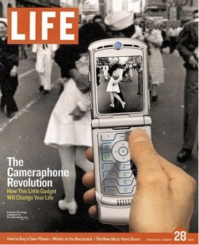 Although it is one of Life magazine's most famous photos, V-J in Times Square did not appear on the cover until 2005.