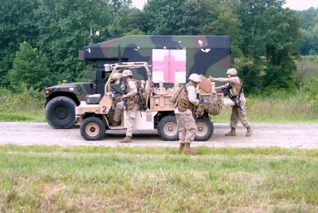Next Generation USMC Unmanned Vehicles
