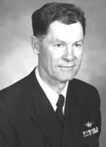 Then Cdr. Kent Lee aboard the USS Enterprise