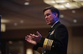 File photo of Adm. Mark Ferguson. US Navy Photo