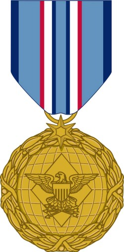 The new Distinguished Warfare Medal annouced yesterday at the Pentagon. DoD Photo