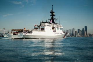 Coast Guard Cutter Stratton. US Coast Guard Photo