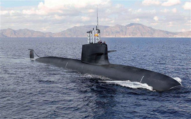 Image of the Spanish Navy's planned S-80 diesel attack submarine. Navantia Photo